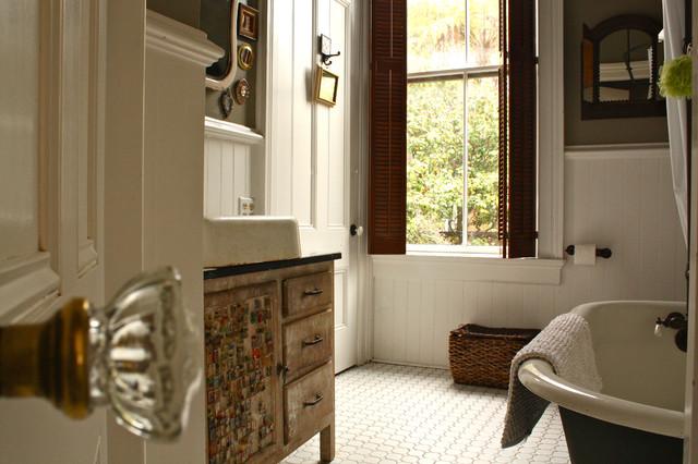 Downstairs Bathroom eclectic-bathroom