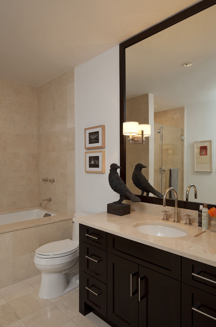 Downtown Eclectic eclectic-bathroom