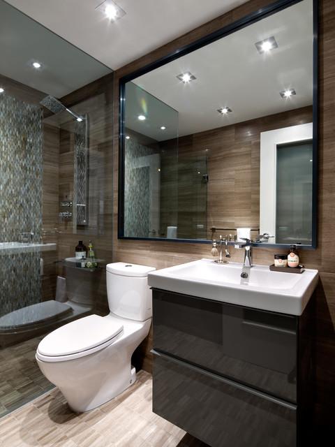 How to Design a Sleek, Modern Bathroom Sleek Bathroom Design on functional bathroom design, high-end bathroom design, trendy bathroom design, rugged bathroom design, minimal bathroom design, clean bathroom design, futuristic bathroom design, compact bathroom design, modern bathroom design, efficient bathroom design, gray bathroom tile design,