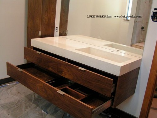 Dp3 Series Tab Drawer Pull Modern Bathroom Los