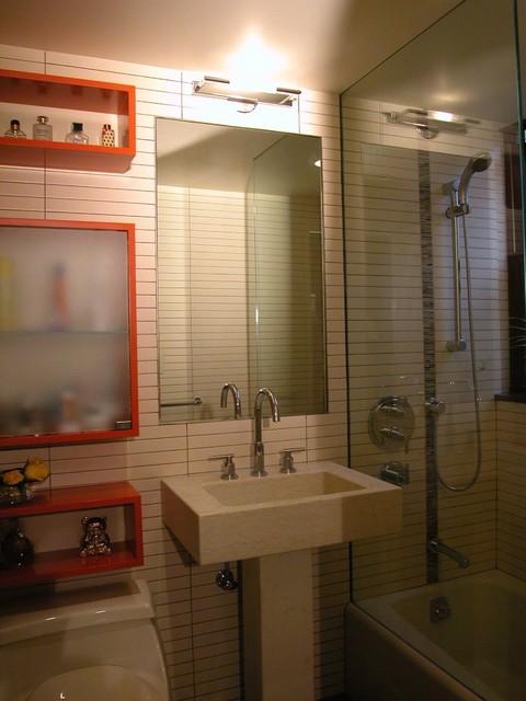 Dr Kennedy Guest Bath modern-bathroom