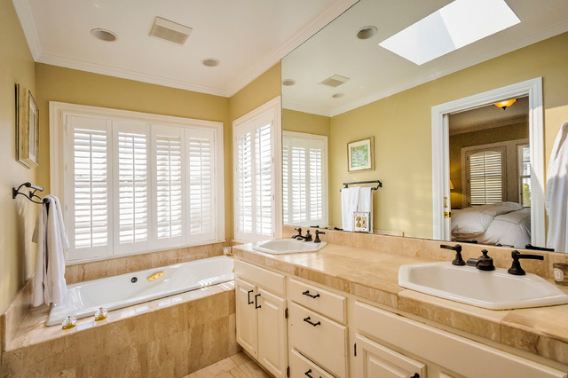 Drake avenue traditional bathroom other by dennis for Drakes bathrooms
