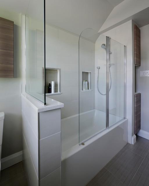 Drake dormer bathroom ottawa by luxurious living for Bathroom dormer design