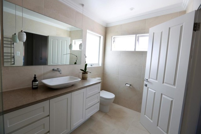 Dream Family Home Transitional Bathroom Sydney By Hampshire Design