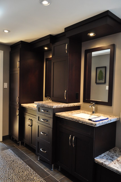 Dream Master bath contemporary bathroom