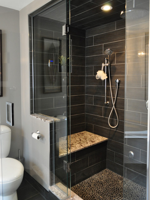 Contemporary Bathroom By Isabel Beattie K Cabinets Oakville