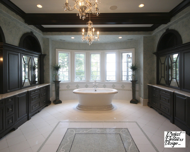 Dream Master Bath Traditional Bathroom Chicago By