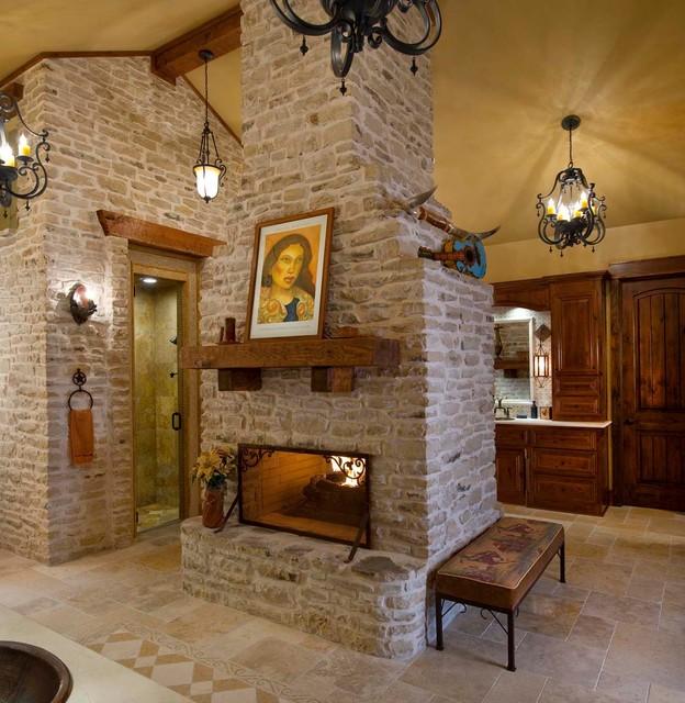 Dream master bath remodel for Fireplaces bath