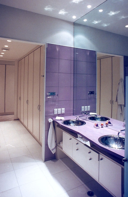dressing room from bath contemporary bathroom other