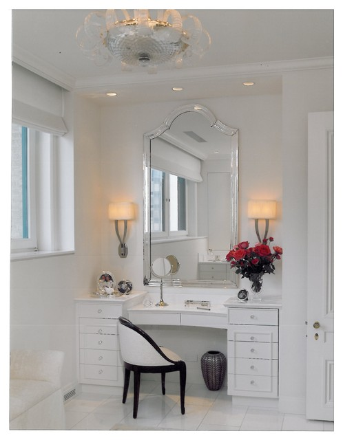 Interior Designers Dressing Room Contemporary Bathroom