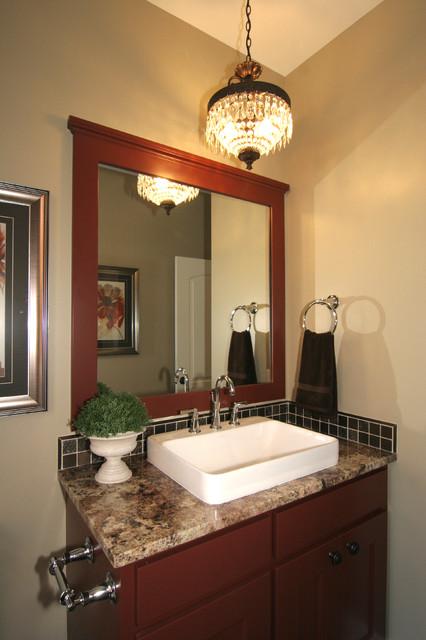 Drift hollow home classique chic salle de bain grand - Salle de bain classique chic ...