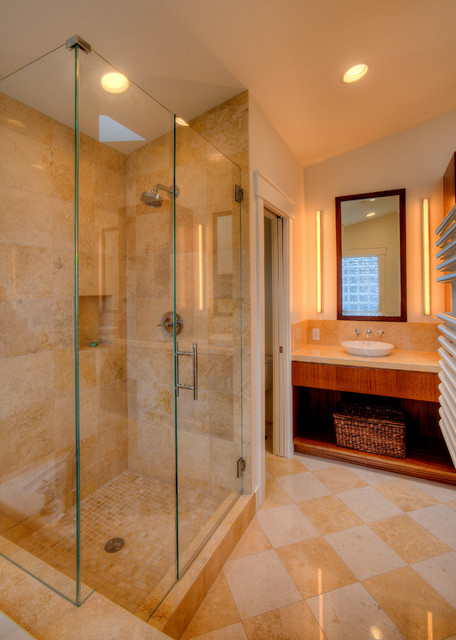 2.0 Driftwood Shores Waterfront, Camano Island, Wa. contemporary-bathroom