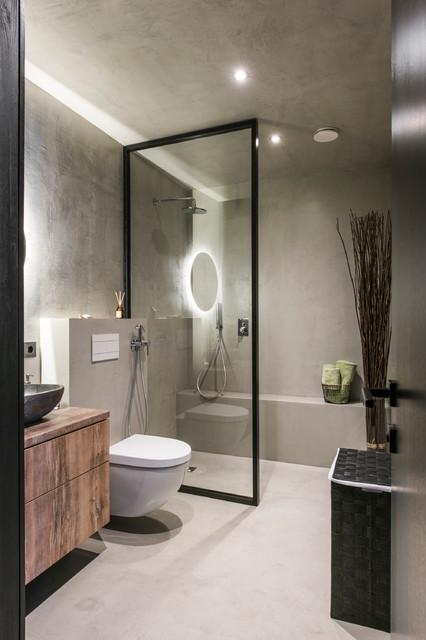 Drills&Hollywood contemporain-salle-de-bain