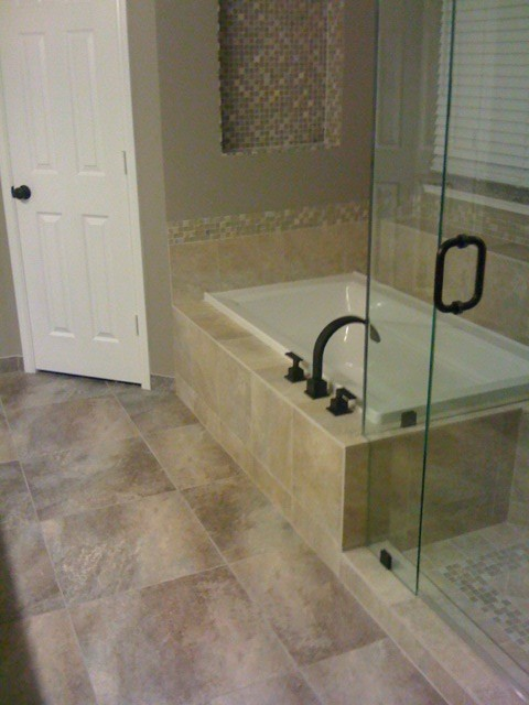 Drop In Tub Traditional Bathroom Other Metro By