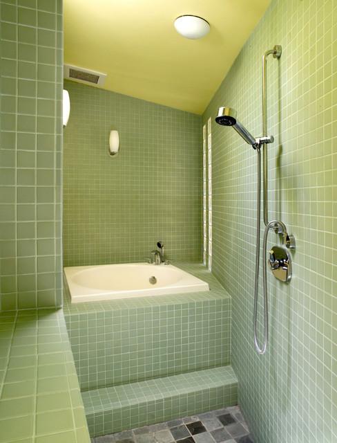 Drucker brownstein residence for 1915 bathroom photos