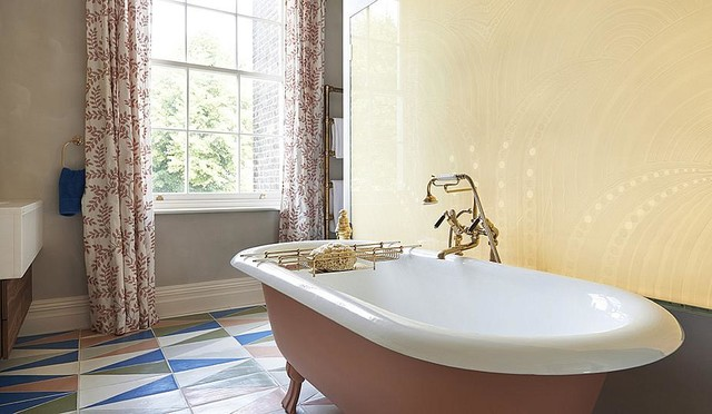 Drummond 39 S Case Study London Townhouse Notting Hill Eclectic Bathroom London By