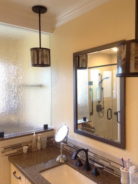 Dual Bathroom Project in Moraga, CA (Master) modern-bathroom