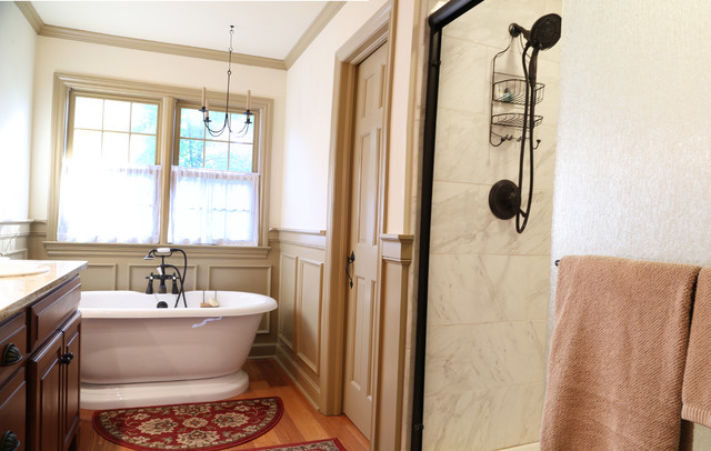 dublin master bath craftsman bathroom columbus by al deen. Black Bedroom Furniture Sets. Home Design Ideas