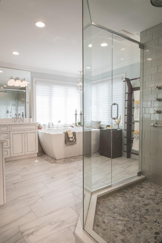 Dunajcik Master Bath Renovation - Webster Groves, MO ...