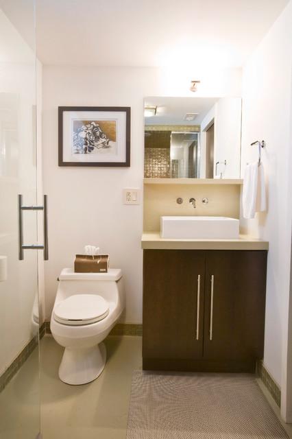 duncan avenue basement renovation modern bathroom
