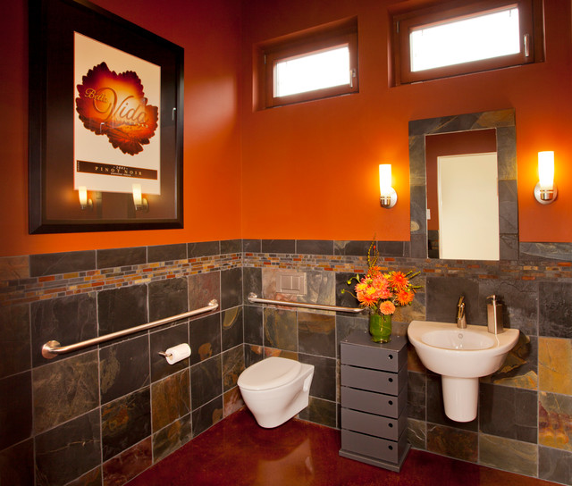 "Bathroom Designs Dundee dundee hills ""wheel chair accessible"" - contemporary - bathroom"
