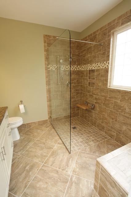 Durham master bath remodel Bathroom remodel durham nc