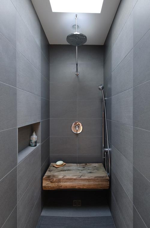 Wood Abounds In Artisan Bath Design