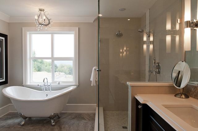 Eagle Estates eclectic-bathroom