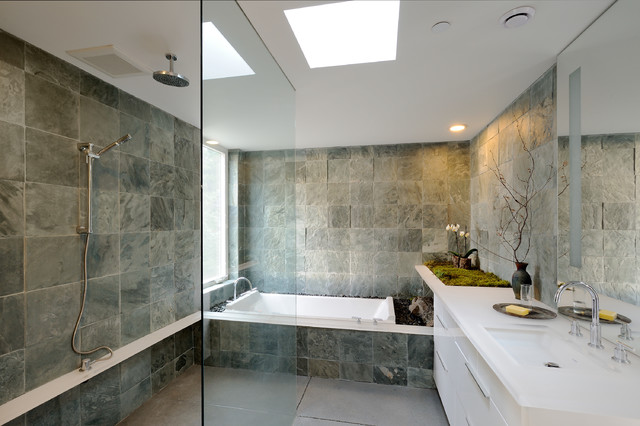 Eagle Ridge Contemporary Bathroom Seattle By Gary Gladwish - Gary's handyman and bathroom remodeling