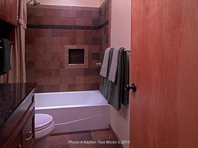 Bathroom Remodel Kitsap County early split level bathroom remodel - transitional - bathroom