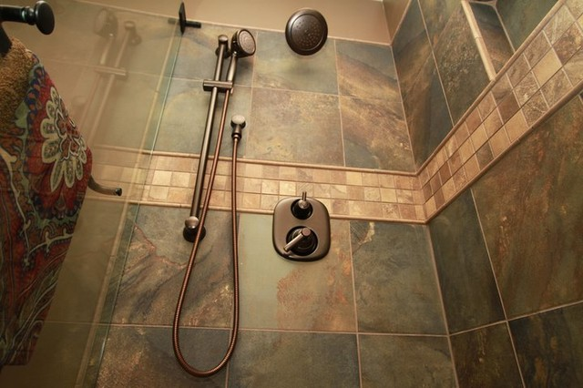 Bathroom Ideas Earth Tones earth tone shower