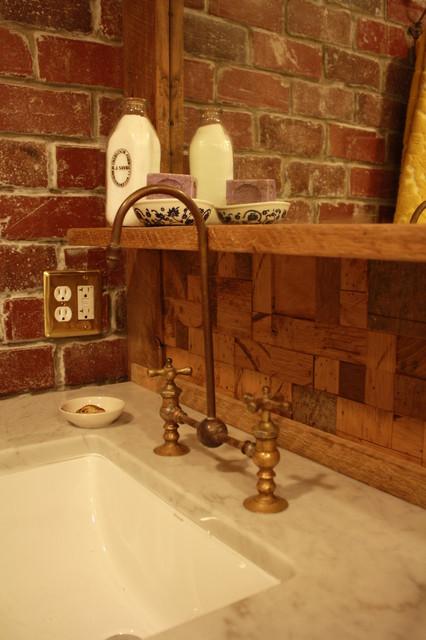 Earthy rustic bath eclectic bathroom other by for Earthy bathroom designs
