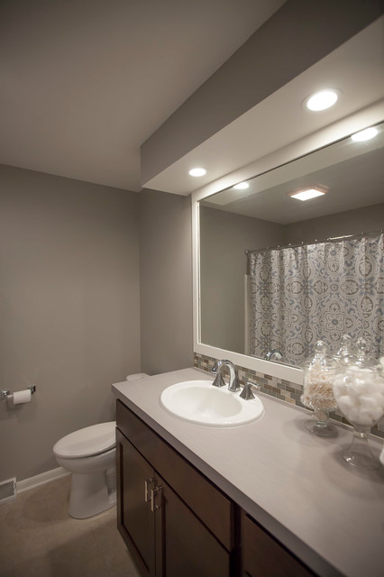 East Grand Rapids Complete Remodel Transitional Bathroom Grand Rapids By At Home Design