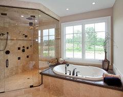 East Hampton traditional-bathroom