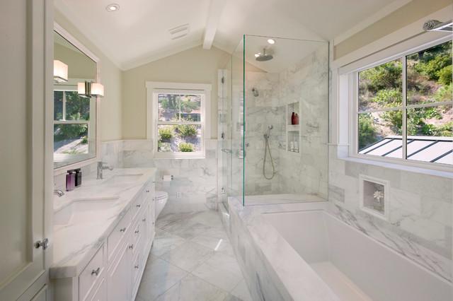 East Mountain - Traditional - Bathroom - Santa Barbara - by DD Ford on