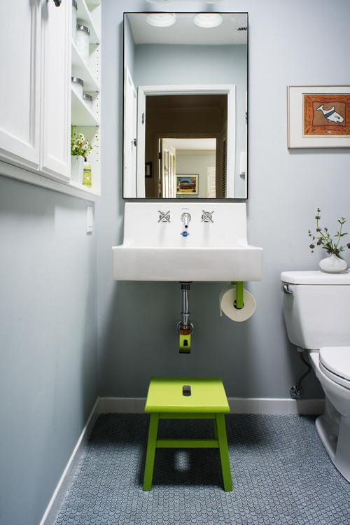 east side bathroom