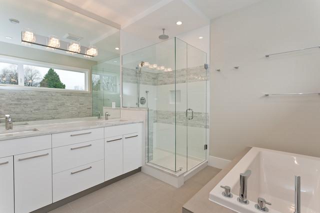 East Van traditional-bathroom