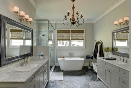 Coldwell banker global luxury blog luxury home style how to choose the right bathroom chandelier aloadofball Image collections
