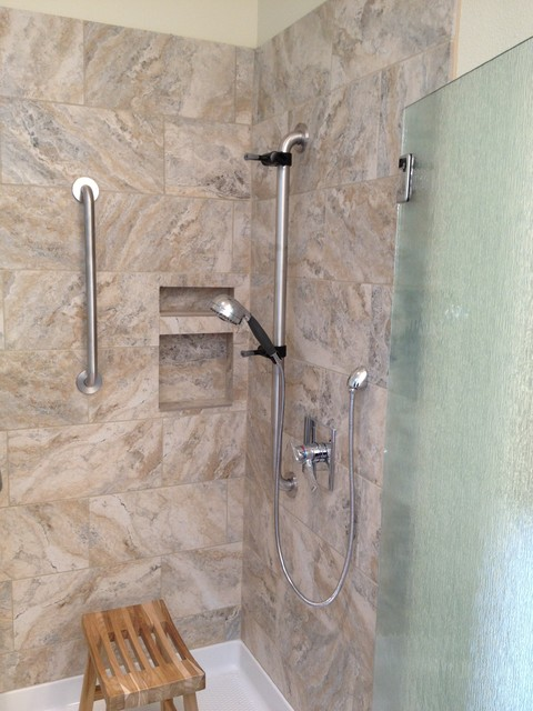 easy access showers traditional bathroom other by devine bath