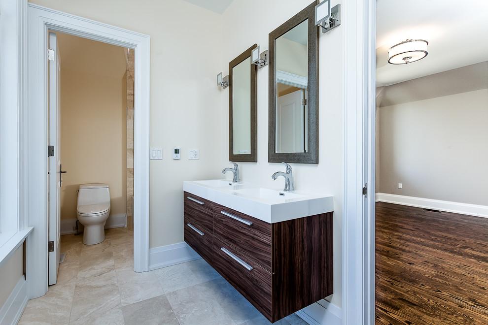 Bathroom - transitional bathroom idea in Toronto