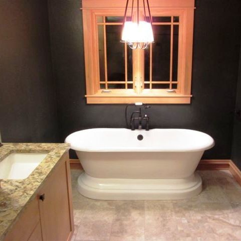 Model The Bath Now Has Baseboard Hot Water Heat That Would Either Need Refiguring Or Changing To Electric Baseboard The Existing Vanity Would Need To Be Changed To A Wheelchair Accessible Single Sink With A Counter And Drawers Alongside