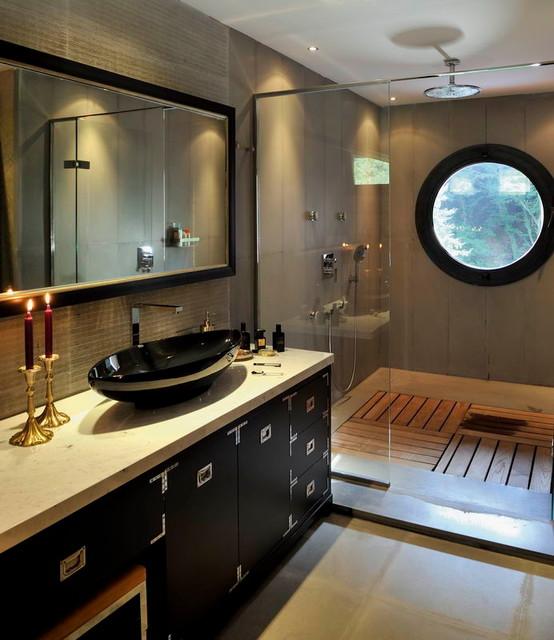 EB HOUSE contemporary-bathroom