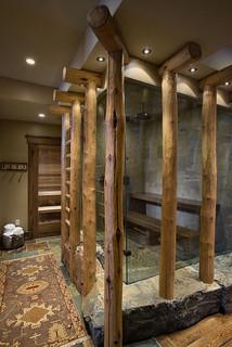 Montana mix eclectic bathroom