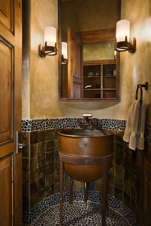 Cool Steampunk Home Bathroom Design Ideas from Houzz on modern bathroom design, small bathroom tile design, fireplace with stone wall living room design, bathroom interior design, simple small house design, pinterest bathroom design, spa bathroom design, joanna gaines bathroom design, renovation bathroom design, fall bathroom design, rustic cottage bathroom design, asian bathroom design, early 1900 bathroom design, mediterranean bathroom design, shabby chic bathroom design, very small bathroom design, trends bathroom design, retro bathroom design, shaker style bathroom design, house beautiful bathroom design,