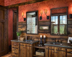 help with western themed bathroom