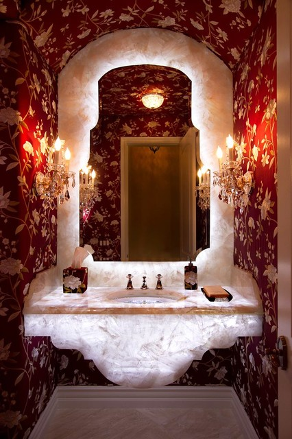Contemporary Eclectic eclectic bathroom