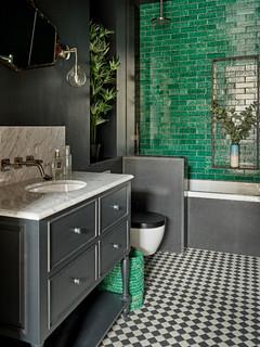 Eclectic Bathroom - Highbury - Transitional - Bathroom ...