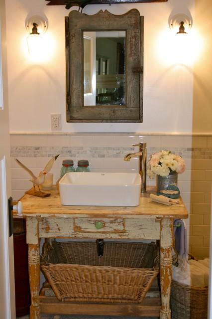 Vintage Vanities Bring Bygone Style To Baths