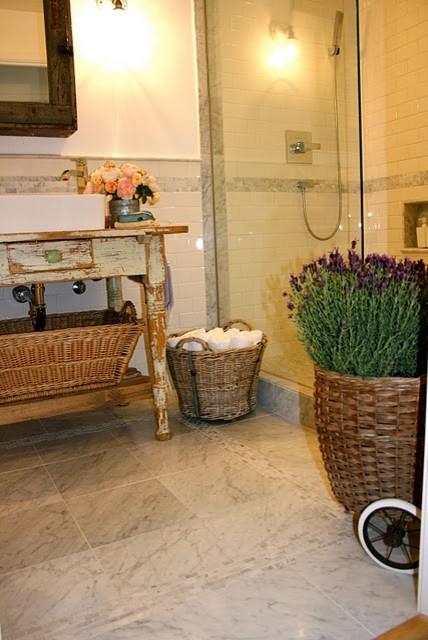 Country Bathroom eclectic-bathroom