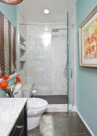 Beach Bath eclectic-bathroom